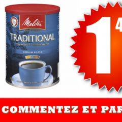 melitta149 679 240x240 - Café moulu Melitta à 1,49$ au lieu de 6,79$