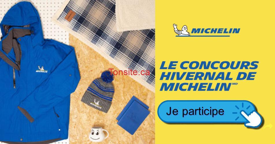 michelin concours hivernal - Concours Michelin: Gagnez un ensemble d'hiver d'une valeur de 316$