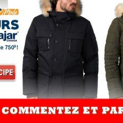 pajar manteau concours 240x240 - Gagnez un manteau Pajar de votre choix jusqu'à une valeur de 750 $