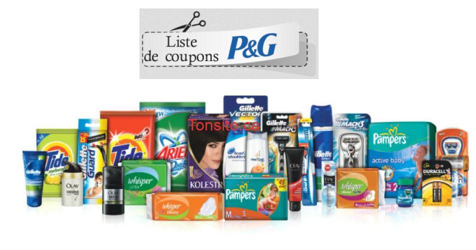 pg af - Coupons rabais P&G: Économisez sur les produits Pampers, Tide, Bounty, M.Net, Swiffer et plus