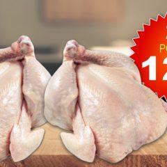 poulet 2 12 240x240 - Emballage de 2 poulets entiers à 12$ seulement!