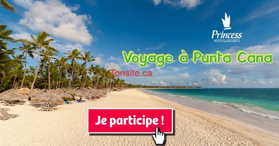 punta cana concours3 - Gagnez des vacances tout compris de 7 nuitées pour 2 personnes à Punta Cana