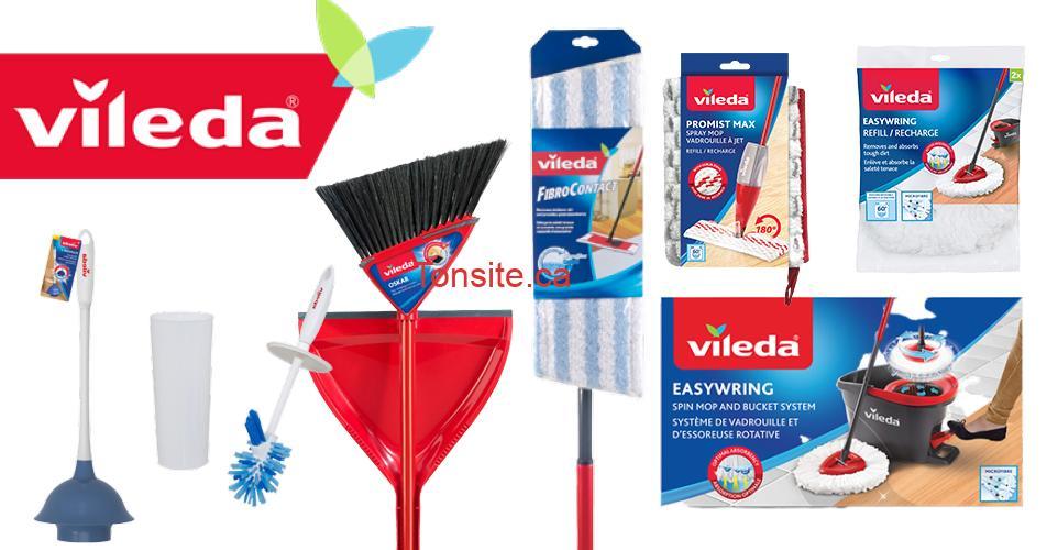 vileda produits - Coupons rabais sur les produits Vileda