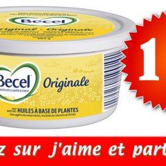 becel coupon1 240x240 - Coupon rabais de 1$ sur la margarine Becel (tout format)