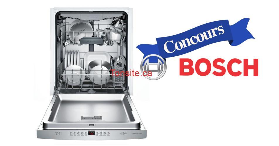 bosch concours - Gagnez 1 des 3 lave-vaisselle Bosch