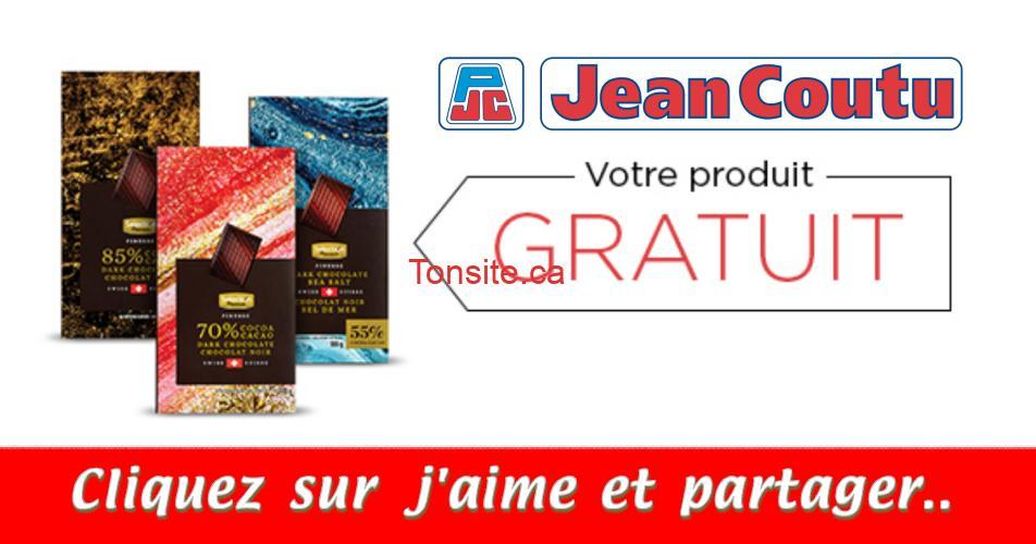 chocolat gratuit jc - Chocolat GRATUIT chez Jean Coutu, 2 jours seulement!