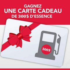 essence 300 240x240 - Gagnez une carte-cadeau de 300$ d'essence!