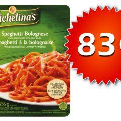 michelinas 83 240x240 - Repas surgelés Michelina's à 83¢ seulement!