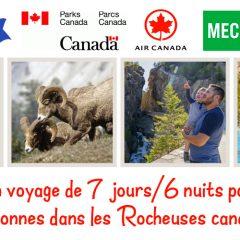parcs canada concours 240x240 - Gagnez un voyage de 7 jours / 6 nuits pour 4 personnes dans les Rocheuses canadiennes
