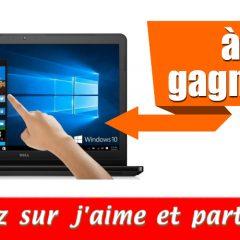 pc concours 240x240 - Participez et gagnez un laptop Dell Latitude i5 Touchscreen