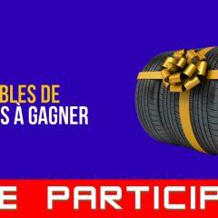pneus 4 concours 240x240 - 4 ensembles de pneus à gagner!