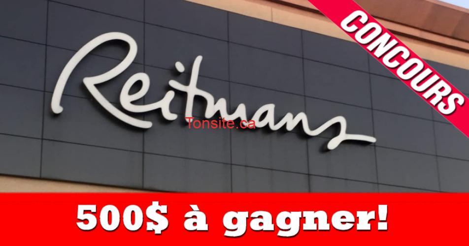 reitmans concours500 - Gagnez une carte-cadeau Reitmans de 500 $