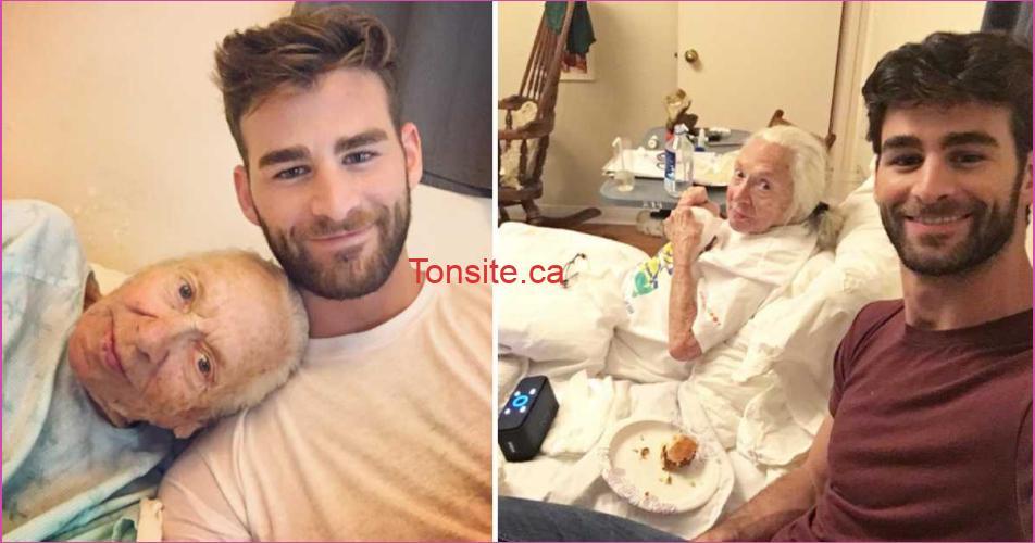 salvatore norma - Ce jeune homme à fait un geste remarquable envers cette femme de 89 ans malade et sans famille!