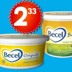 becel 233 599 240x240 - Margarine Becel à 2,33$ au lieu de 5,99$