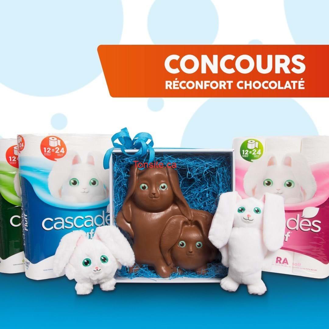 cascades concours01 - À gagner: Un duo de peluches + chocolat au lait à l'effigie de Fluff et Tuff (4 gagnants)