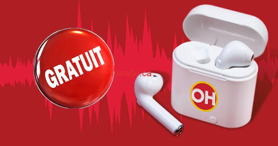 ecouteurs oh henry - Obtenez ces écouteurs sans fil GRATUITEMENT!