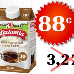 lactantia creme 88 327 240x240 - Crème à café Lactantia à 88¢ au lieu de 3,27$