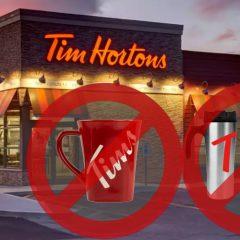 tim hortons gobelets 240x240 - Tim Hortons cessera de remplir les gobelets réutilisables + autres changements