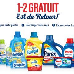 1 2 gratuit 240x240 - Promotion 1-2 GRATUIT est de retour!
