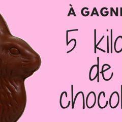 chocolat 5 kilos concours 240x240 - Gagnez votre gigantesque lapin en chocolat de 5 kilos pour pâques!
