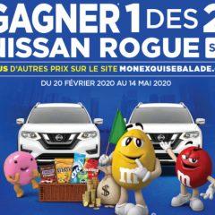 nissan mms 240x240 - A gagner: 2 Nissan Rogue SE 2020, 50 cartes-cadeaux Loblaws et 5 chèques de 1000$