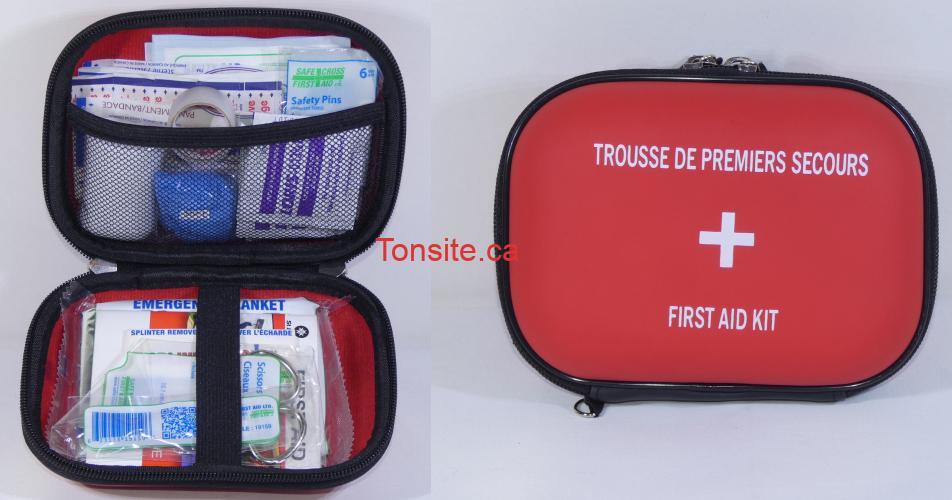 trousse premiers secours concours - Gagnez une trousse de premiers soins -format voyage- (3 gagnants)
