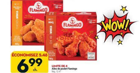flamingo ailes 699 1247 - Ailes de poulet Flamingo à 6,99$ au lieu de 12,47$
