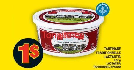 lactantia 1 off - Tartinade traditionnelle Lactantia à 1$ au lieu de 3,49$