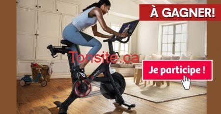 peloton concours - Gagnez un vélo Peloton + 1 an de café (valeur de 3000$)