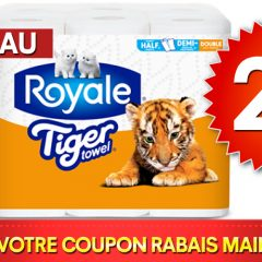 royale tiger towel coupon