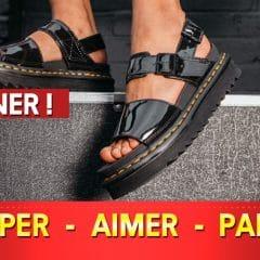 souliers concours 240x240 - Gagnez une paire de sandales Dr Martens pour femme