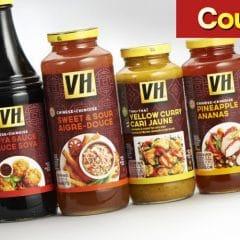 vh coupon 1 240x240 - Coupon rabais de 1$ valide à l'achat d'une sauce VH, au choix (341 mL - 380 mL)