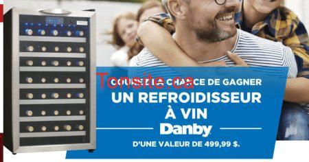 Photo of Gagnez un refroidisseur à vin Danby d'une valeur de 499,99$