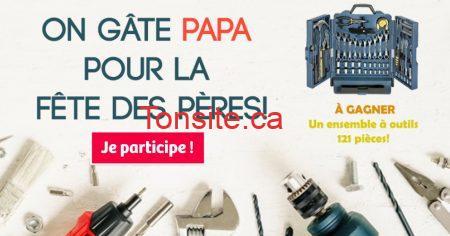 Photo of Gagnez un ensemble à outils 121 pièces pour la fête des pères !
