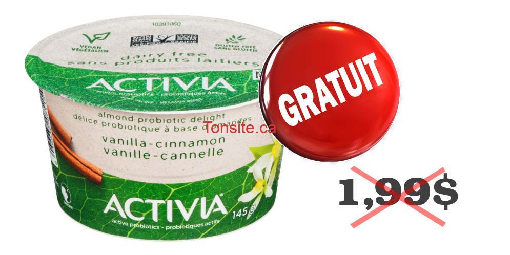 Photo of Obtenez un Yogourt à Base de Plantes Activia Danone GRATUITEMENT (avec coupon)
