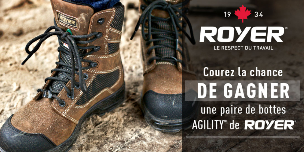 bottes royer concours