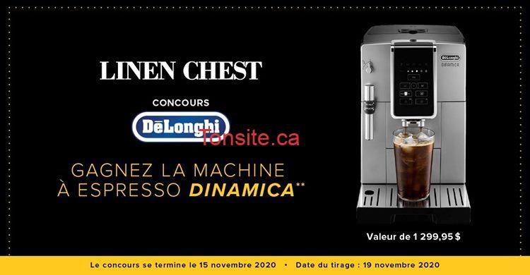 linen chest concours