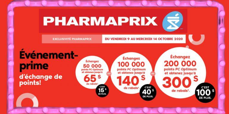 pharmaprix echange points