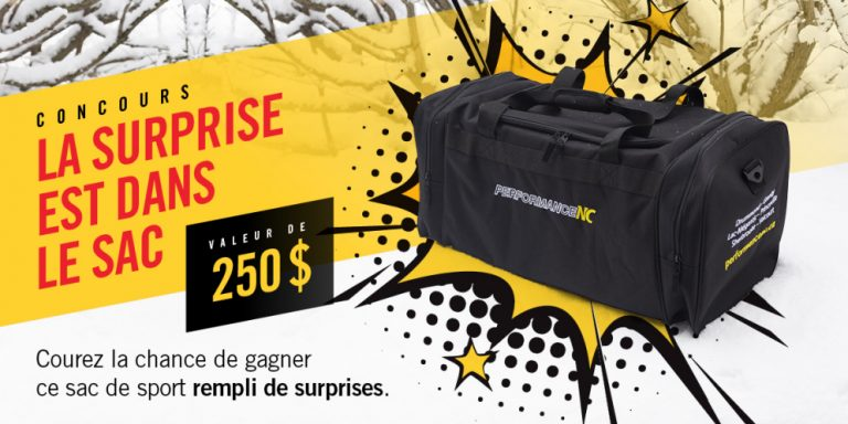 performance sac concours