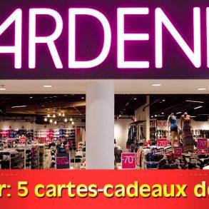 Concours Ardene: Gagnez 1 des 5 cartes-cadeaux Ardene de 100$, Tonsite.ca