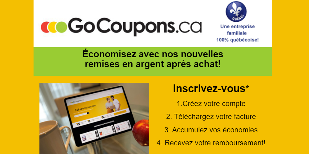 gocoupons remise Tonsite.ca