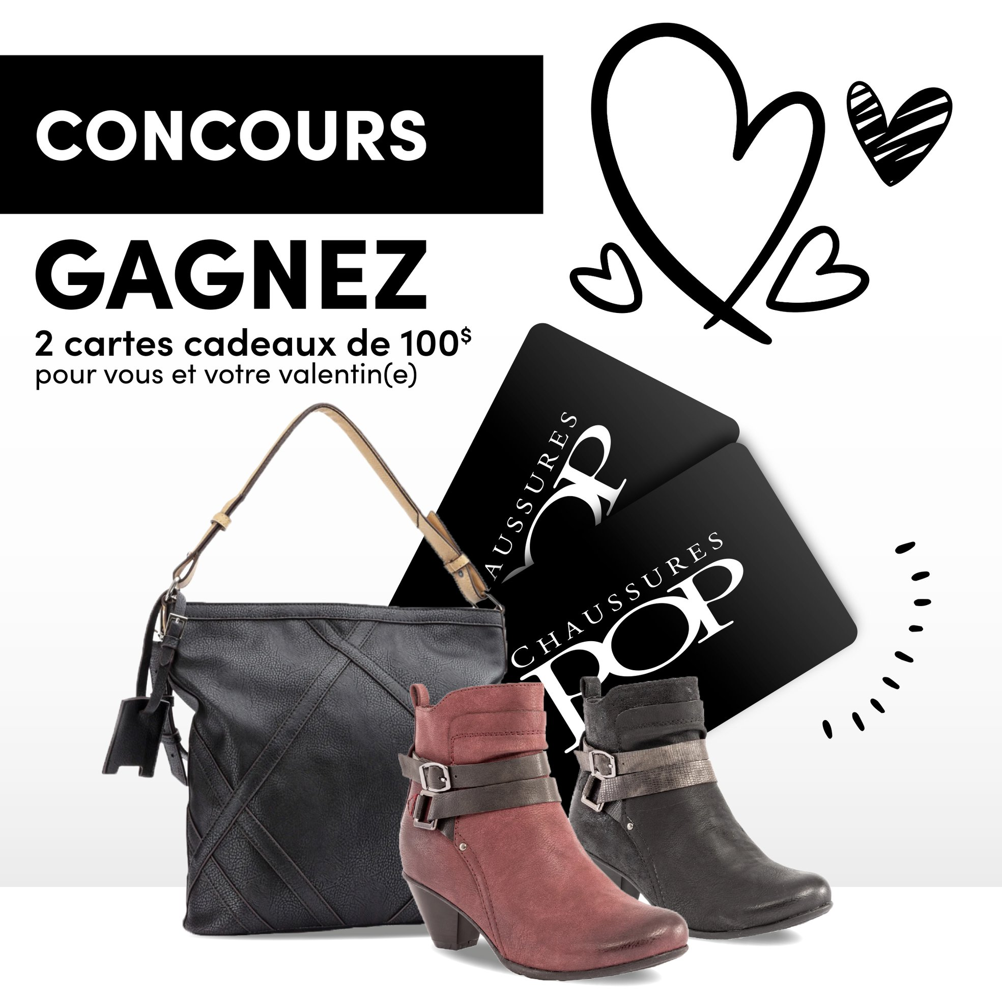 chaussures pop concours Tonsite.ca